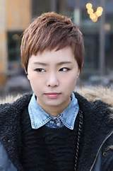 Short Layered Boyish Asian Haircut - Search and discover many great ...
