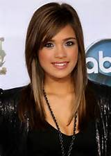 cute hairstyles for long hair with side bangs cute side bangs haircut ...