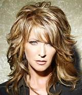 medium length grey hairstyles – the 80s are back textured bangs and ...