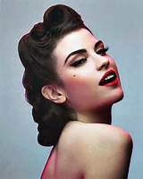 50s hairstyles for long hair 50s Hairstyles ideas