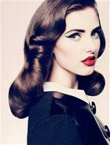 love these 50 s inspired hair dos some actually form the 50 s and some ...