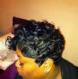 Short cut - Wave curls .....2014 Short hair style for African American ...
