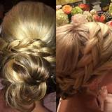 Maid of honor updo!