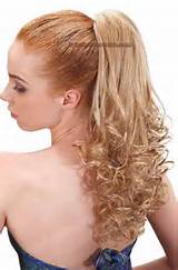 Ponytail hairstyl for prom