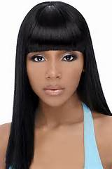 Weave Hairstyles For Black Women With Bang – TheFairs Bang Weave ...