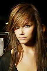 layered hairstyle with side swept bangs great layered hairstyle with ...