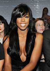 African American Long black hair styles from Kelly Rowland, she ...