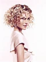 Curly Bob Hairstyle Mid Length