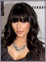 Black Hairstyle With Side Bangs , download this picture for free in ...