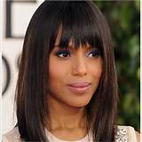 medium-lenght-Bob-hairstyles-with-bangs-for-black-women
