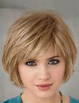 Short Bob Hairstyles with Side Fringe Bangs