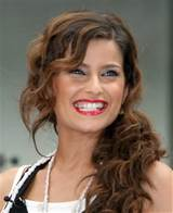 """Nelly Furtado Fun and Curly Side Swept Hairstyle at the NBC """"Today ..."""