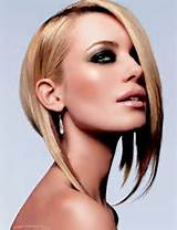 If you have an oval face then you must try asymmetrical haircut along ...