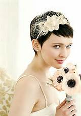 Short Pixie Cut for Wedding – Lovely Bridal Pixie Cut