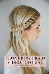 Front Row Braid - 37 Stunning Braided Crown Hairstyles for Every ...
