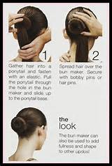 Super Easy Knotted Bun Updo and Simple Bun Hairstyle Tutorials ...