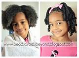 ponytail hairstyles for little black girls