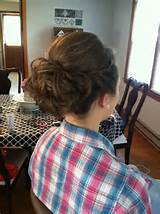 One of My M.O.H (maid of honor) hairstyles:):)