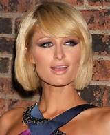 ... Short Bob With Side Swept Bangs short bob hairstyles with side swept