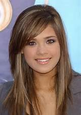 hairstyles with side swept bangs hairstyles with side bangs long ...