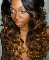 My version of the Ombre hairstyle